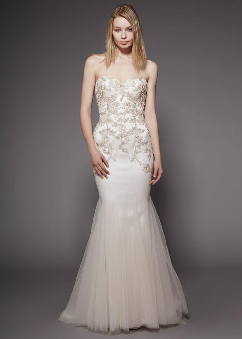 Badgley Mischka- Bridal-wear Norwich. Badgley Mischka